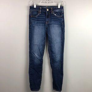 American Eagle Hi-Rise Jegging Super Stretch Jeans